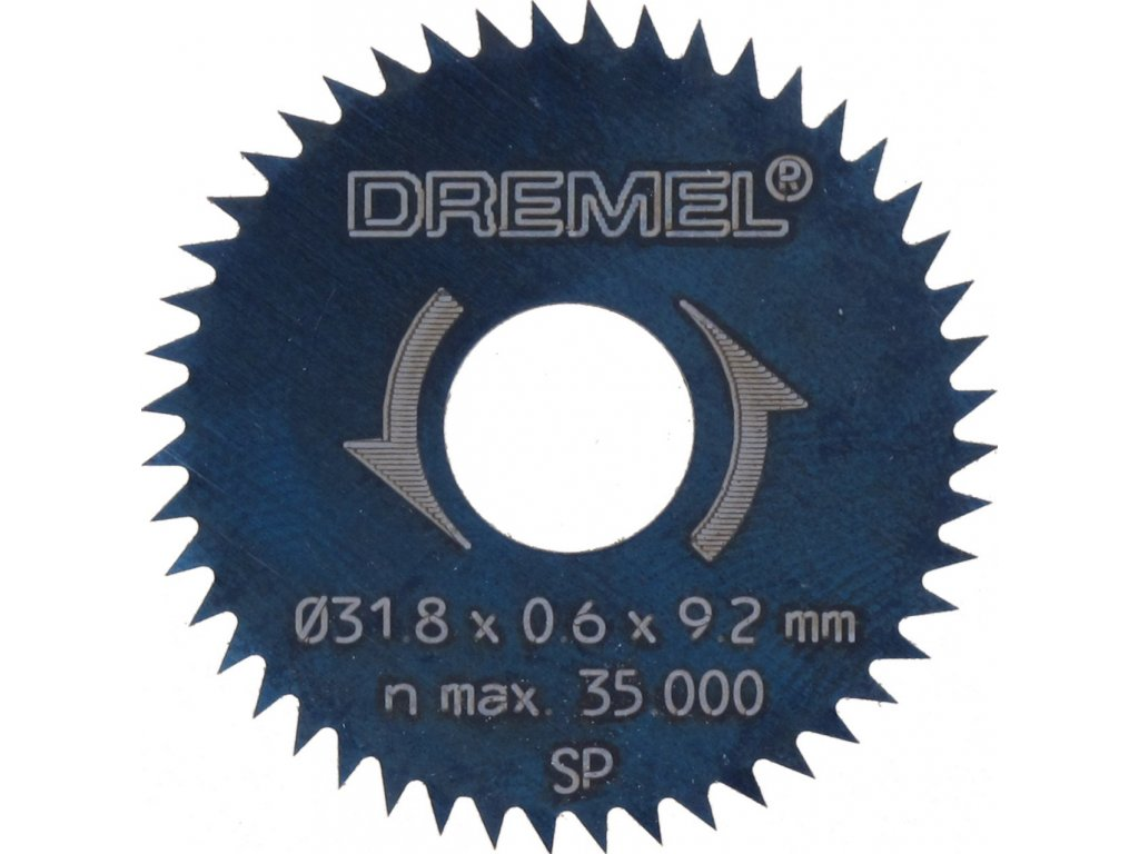 1618 dremel 546 pilovy kotouc na podelny i pricny rez 31 8 mm