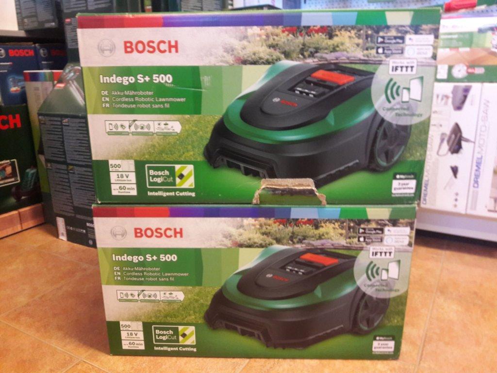 Bosch Indego S+ 500 - poškozený obal