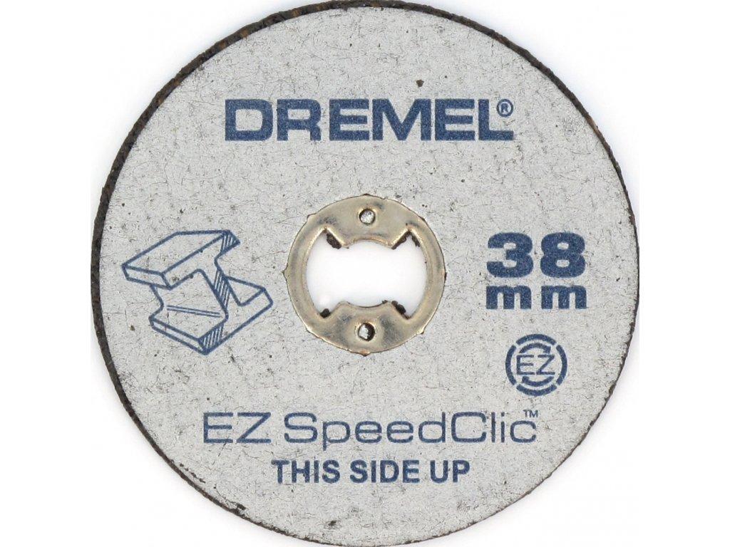 1438 dremel sc456 ez speedclic kotouce na rezani v kovu 5dilna sada