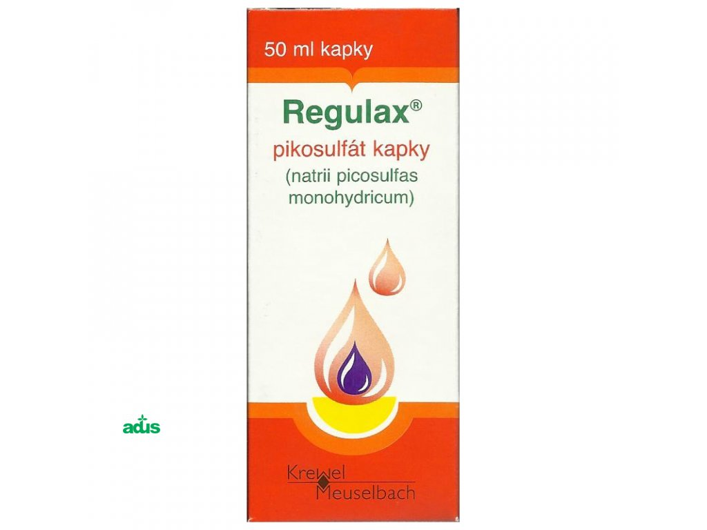 regulax kvapky 50ml