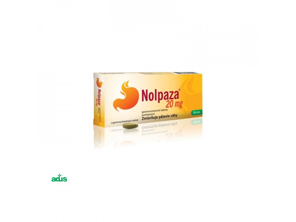 nolpaza 20 mg 7 tbl