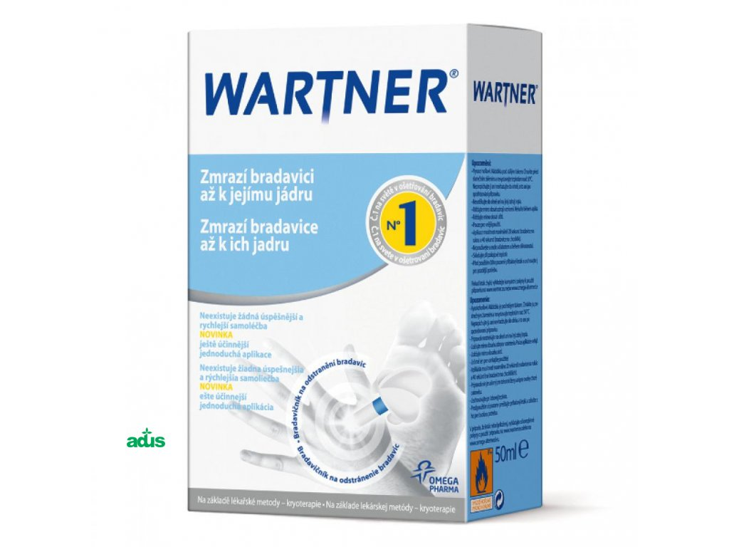 wartner cryo bradavicnik 50 ml