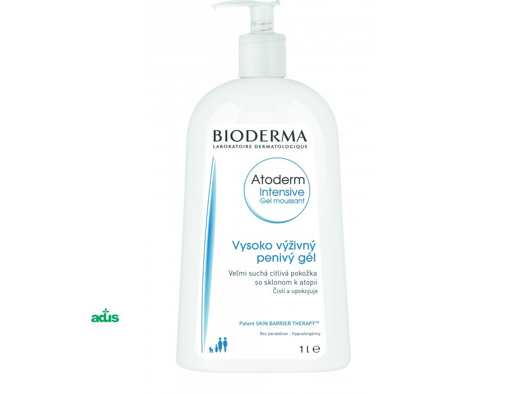 Bioderma Atoderm Intensive Gel moussant - 1000ml