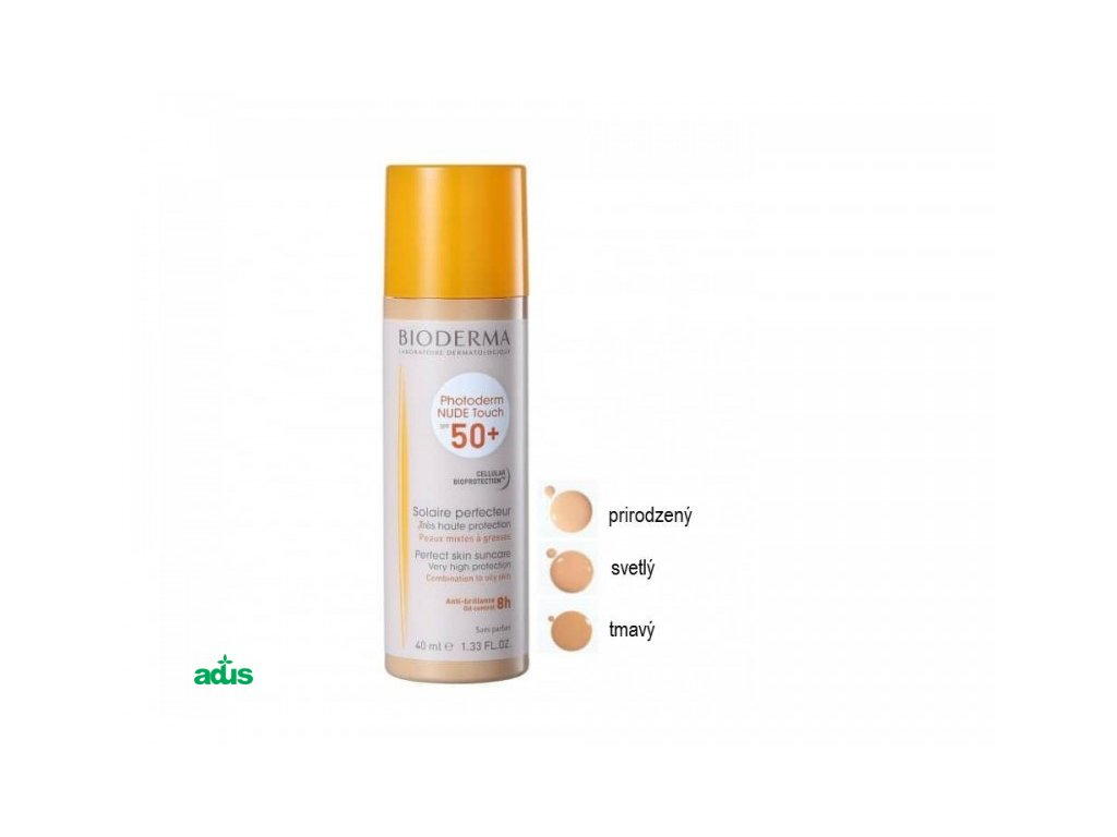 bioderma photoderm nude touch svetly