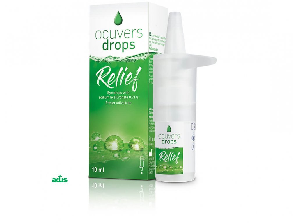 ocuvers drops relief 10 ml