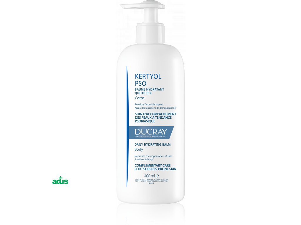 3282770205664 ducray kertyol pso daily hydrating balm front 400ml