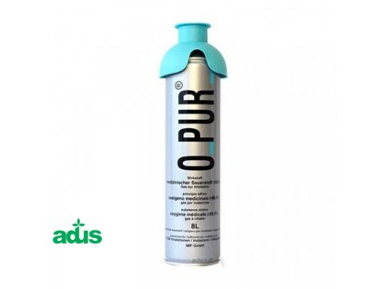 kyslikova flasa 8 inhalacna