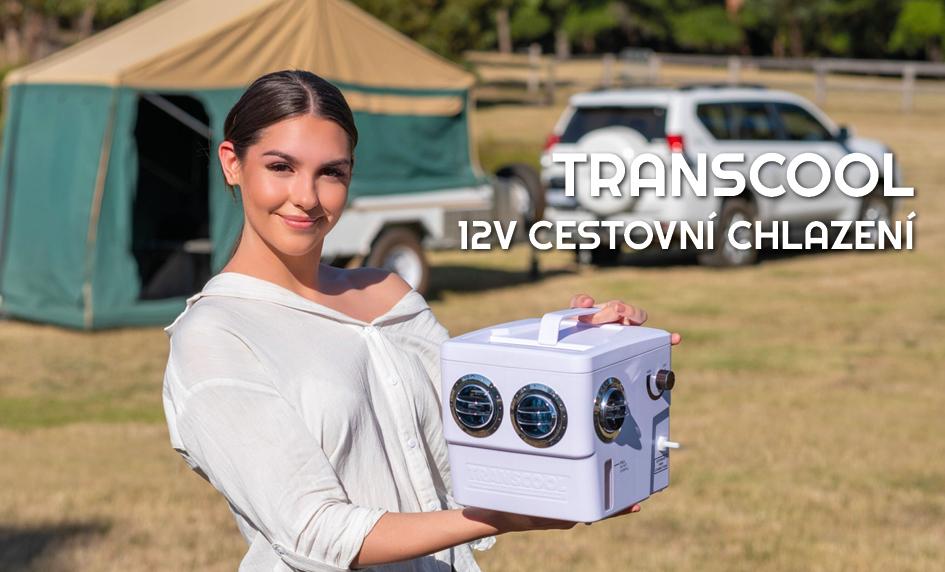 Cestovní odpařovací chladič Transcool na dvanáct voltů