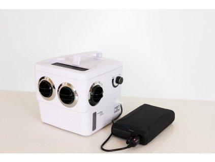 Transcool EC3F PLUS + POWER 60.000 mAh 12V přenosný odpařovací chladič vzduchu