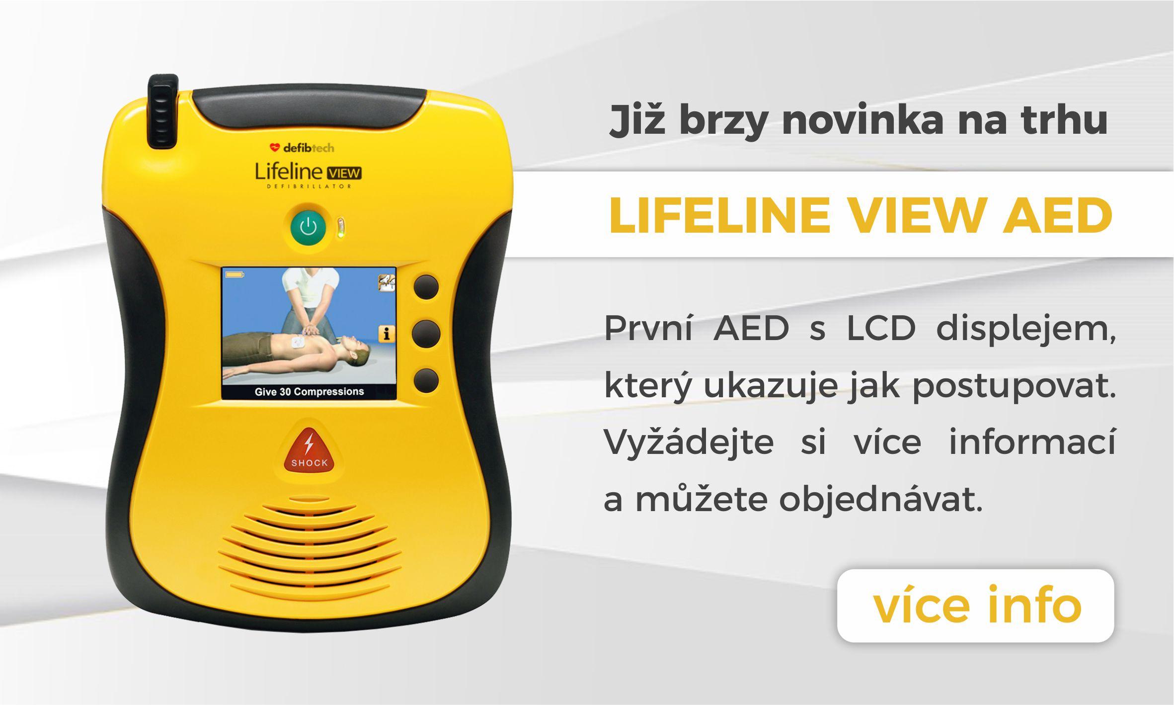 novinka AED view