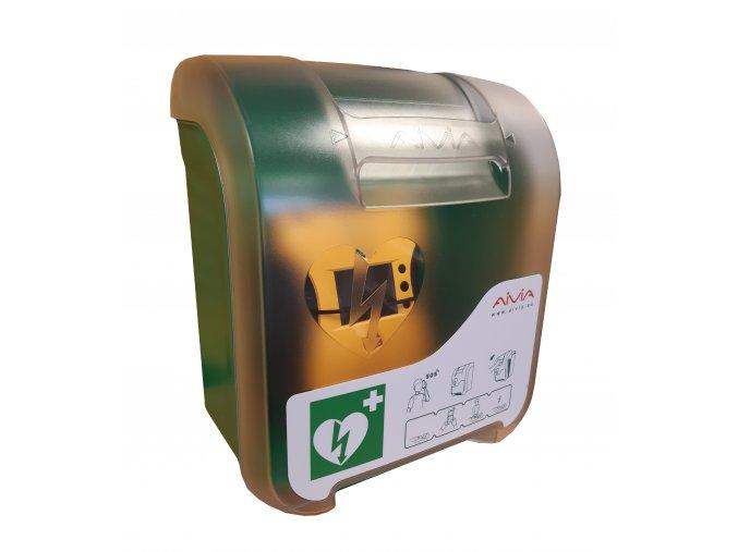 AED box interiérový s alarmem (AIVIA IN)