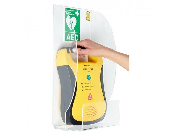 Plastový držák pro AED (ARKY 37)