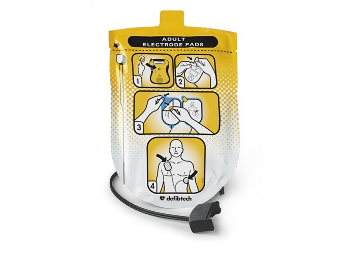 Defibrilační elektrody pro dospělé (DDP-100) Lifeline AED