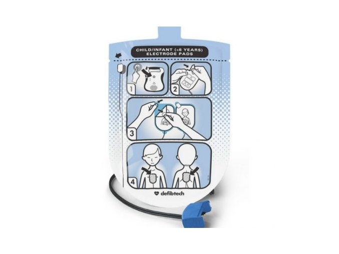 Defibrilační elektrody pro děti (DDP-200P) Lifeline AED