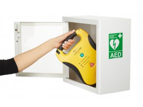 AED box interiérový s alarmem (ARKY 251)