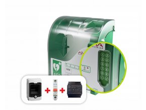 AED box exteriérový s alarmem (AIVIA 210 OUT)