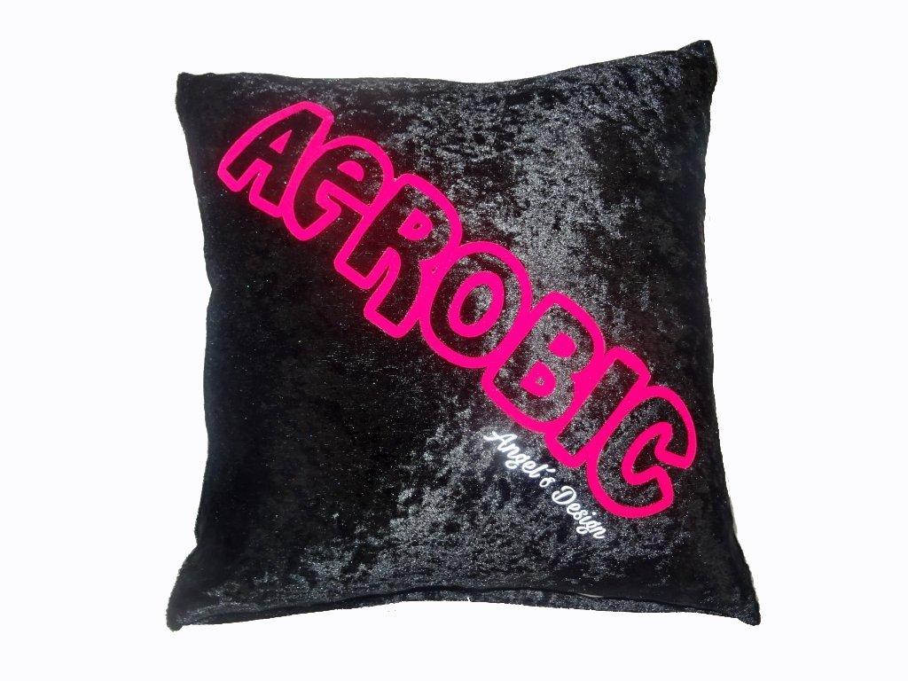 Polštářek AEROBIC černý
