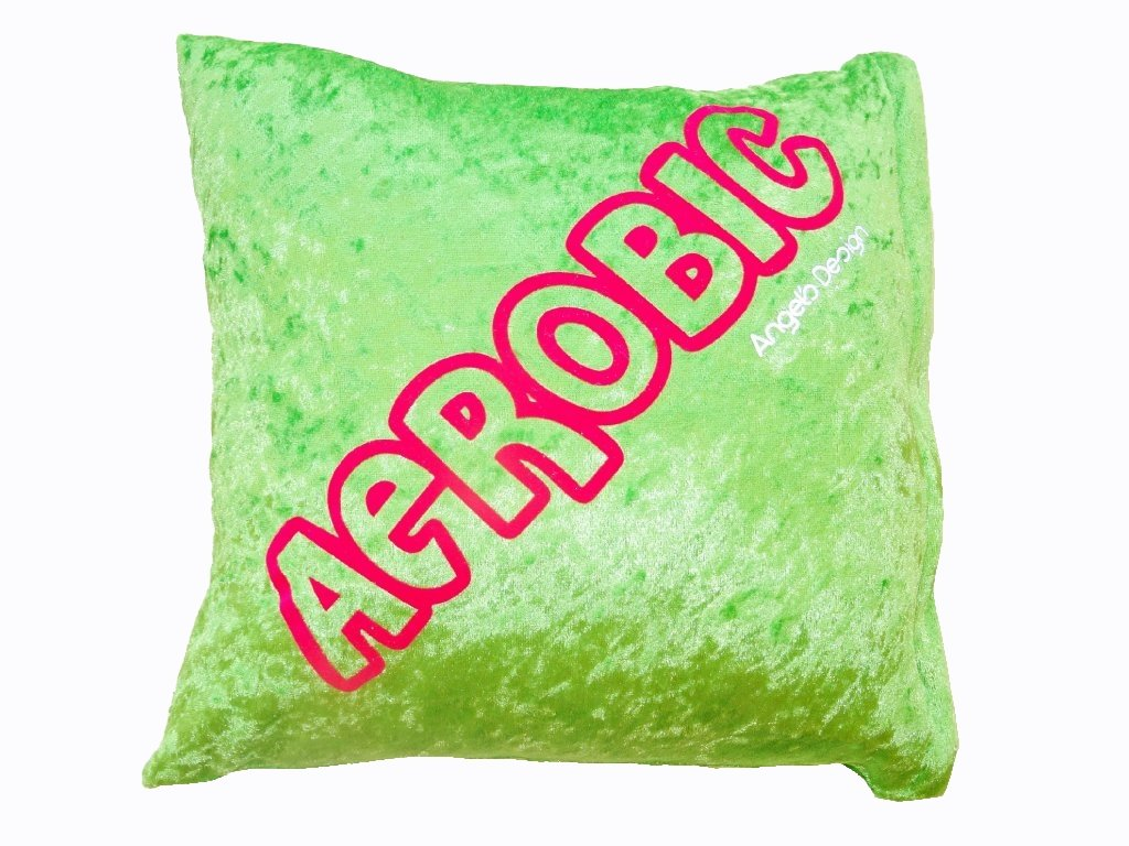 Polštářek AEROBIC zelený
