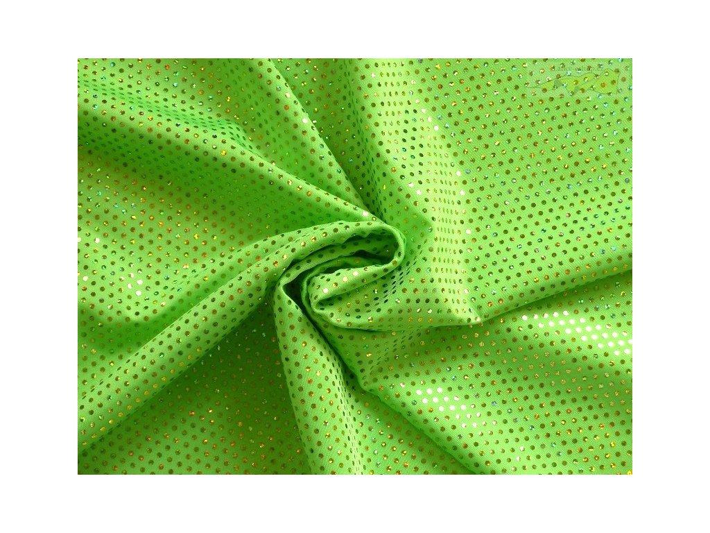 7860 neon zelena flitry