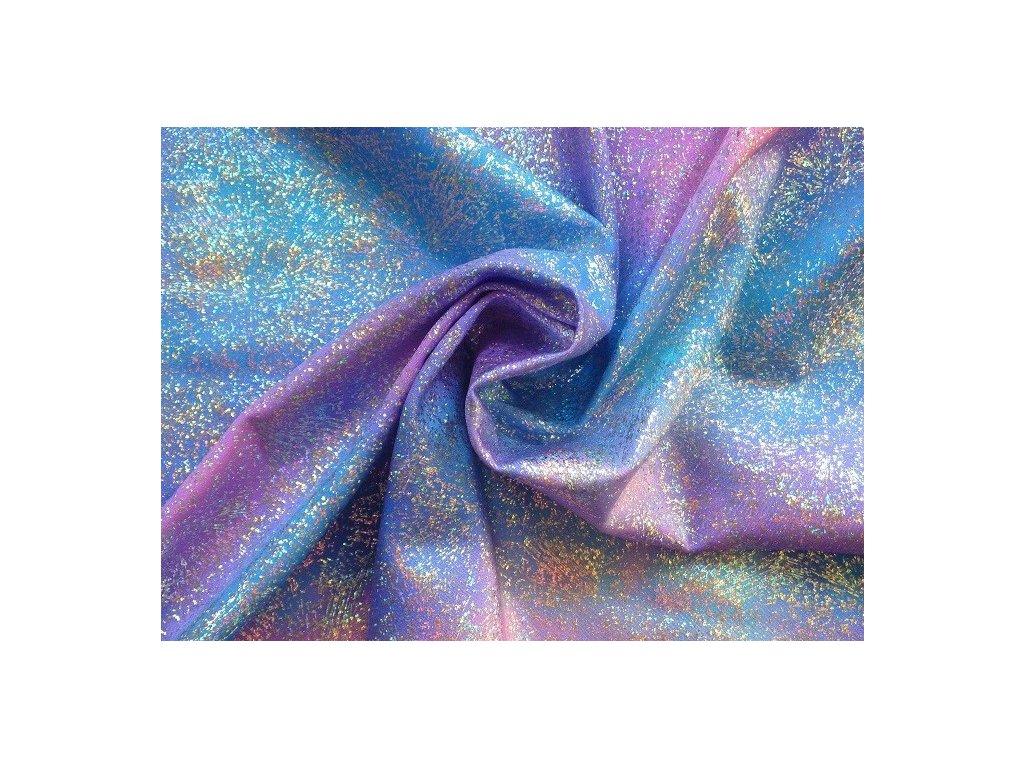 viola svetle modra s flitry