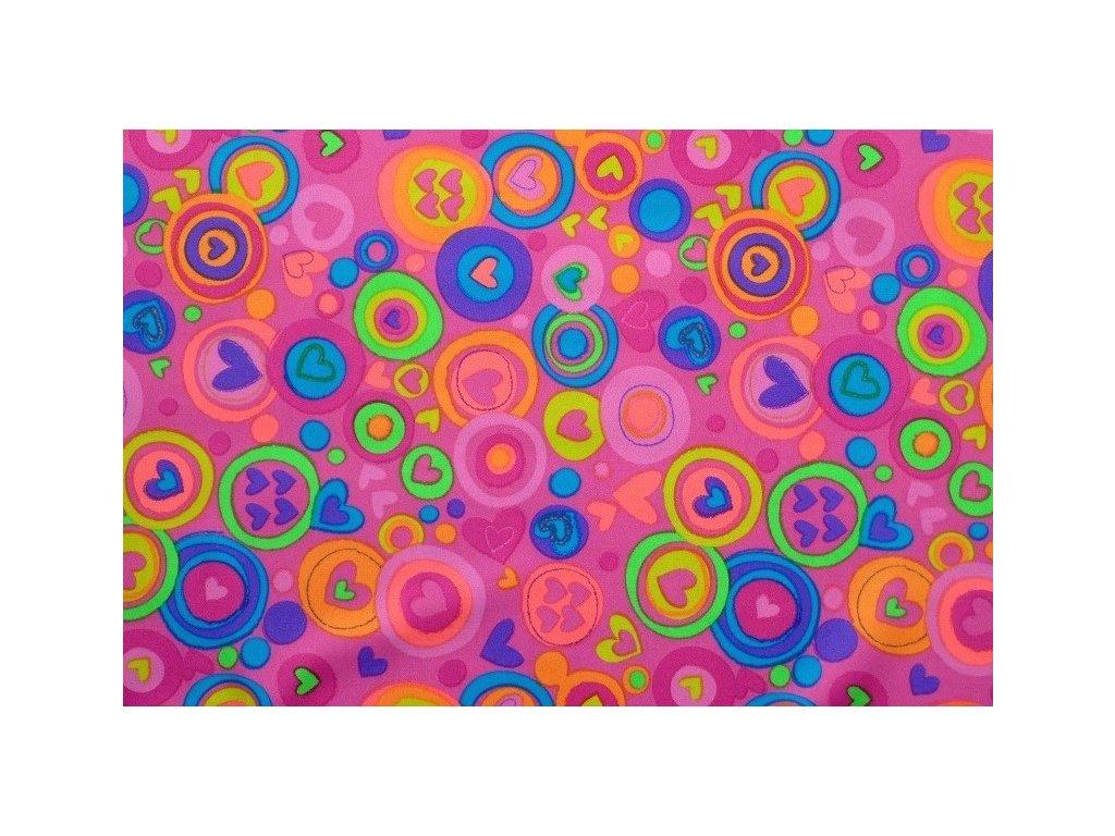 Plavkovina růžová se srdíčky