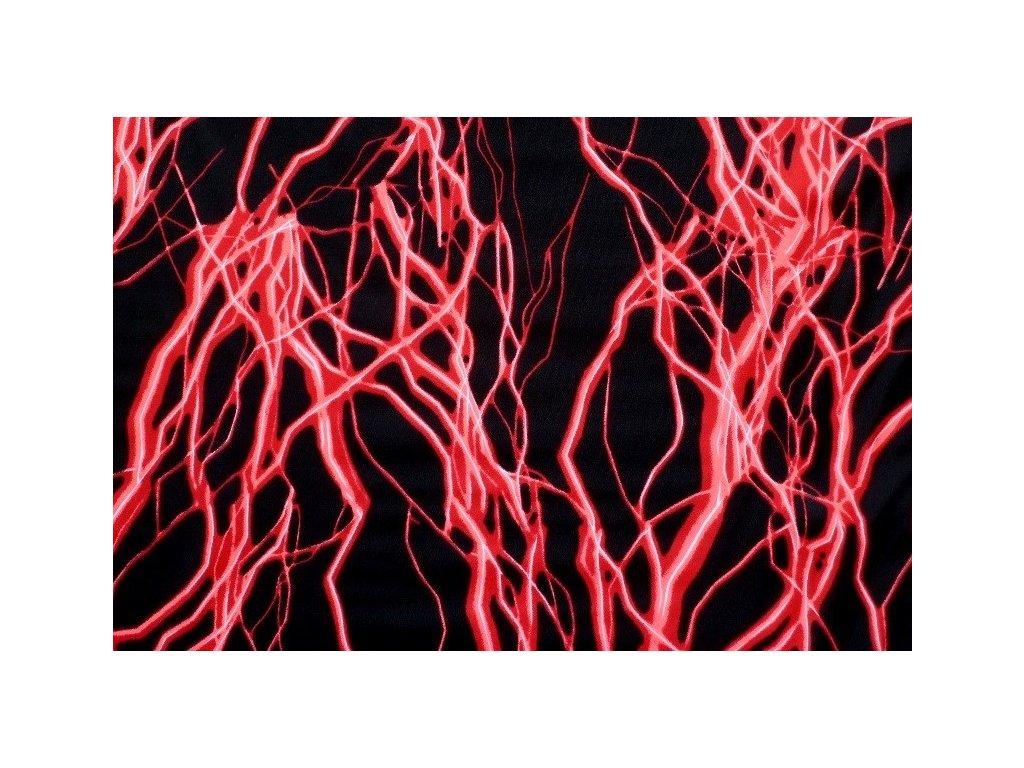 Plavkovina NERVY - neon červená
