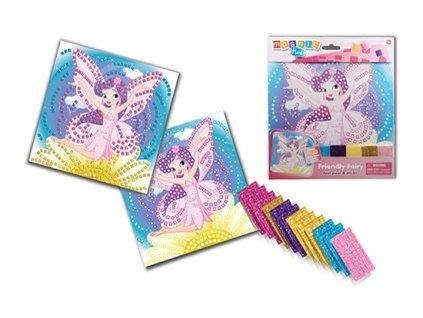 mosaic time friendly fairy