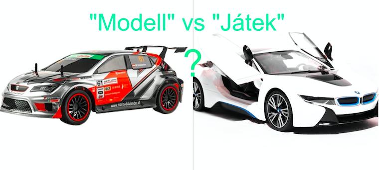 RC autó modell vagy RC játék?