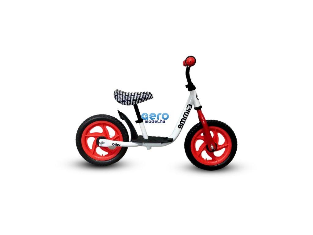 Pedál nélküli kerékpár Viko platformmal - piros