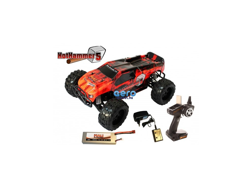 hot hammer 5 rc auto 110 xl rtr model roku 2016