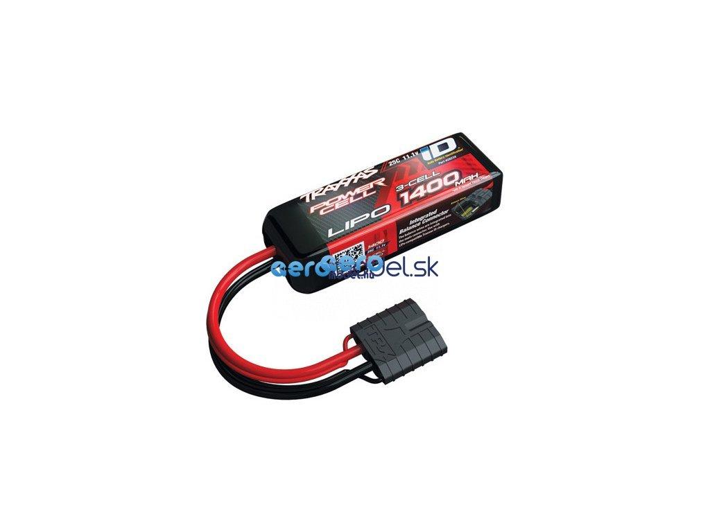 Traxxas LiPo baterie 11.1V 1400mAh 25C iD TRA2823X