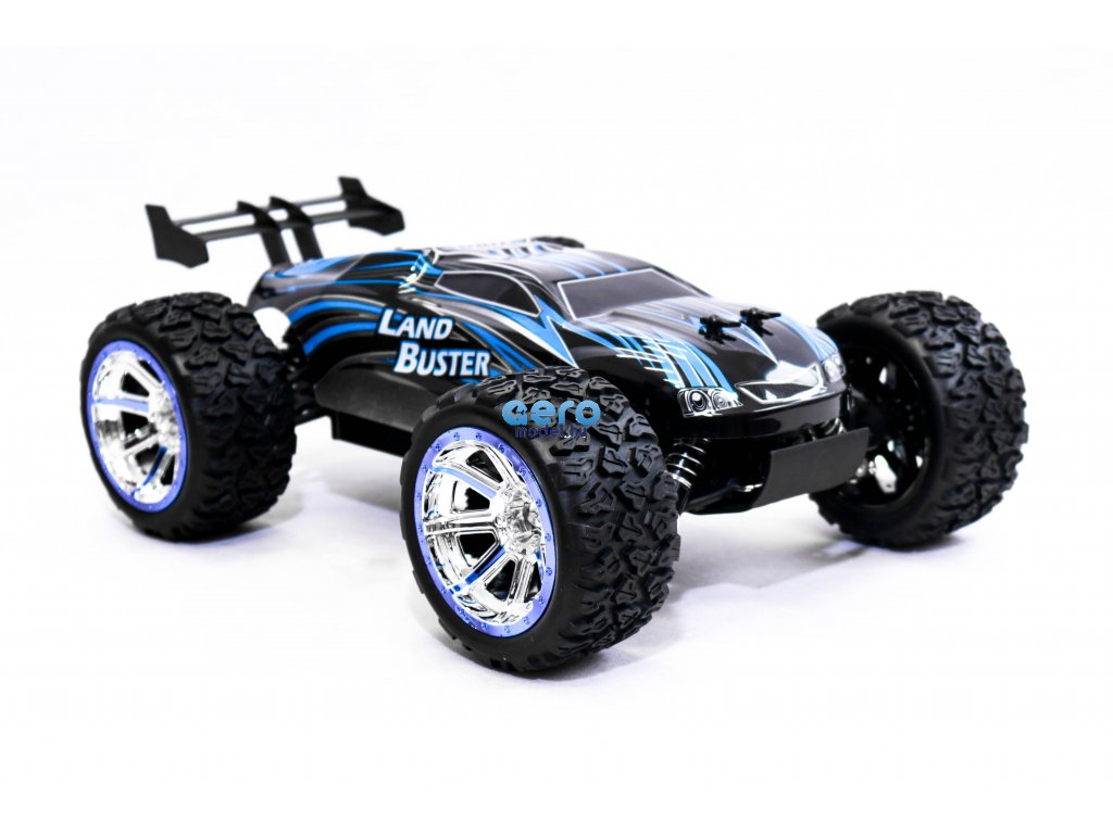 NQD Land Buster Monster-Truck távirányítós autó 1:12 méretű 27/40MHz