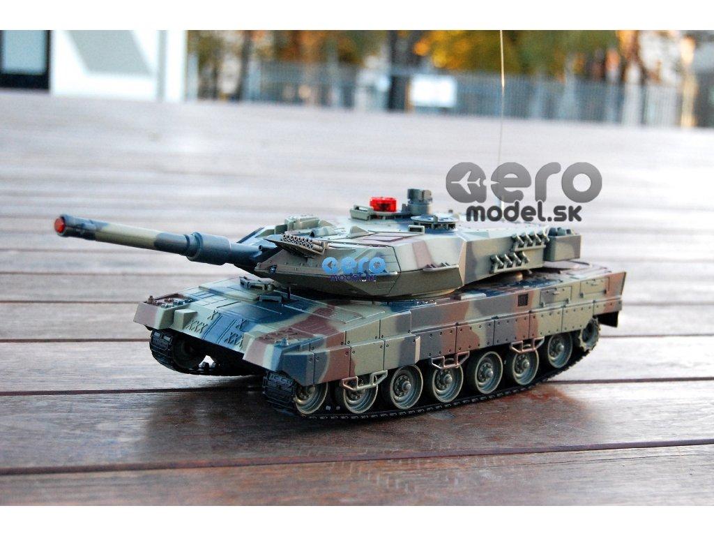 RC tank Leopard RTR 1:18