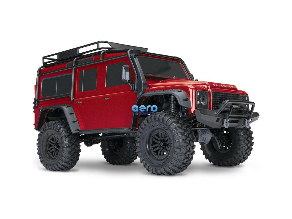 Traxxas TRX-4 Land Rover Defender 1:10 TQi RTR piros TRA82056-4-RED