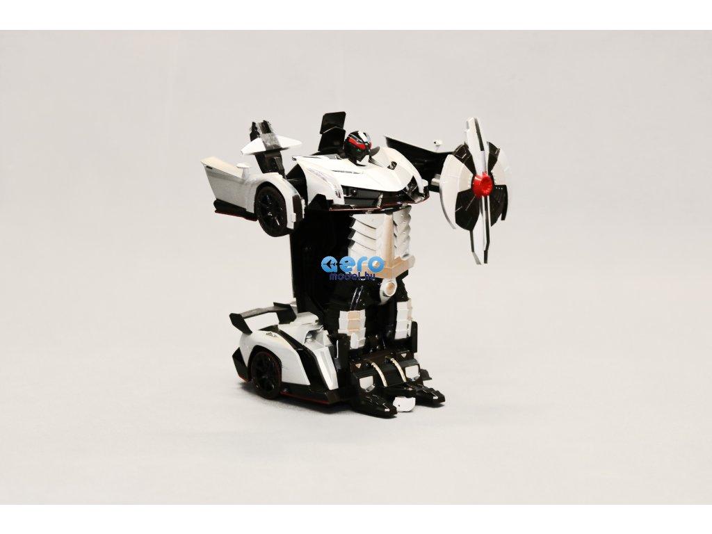 RC Autó - robot transzformátor 2 az 1-ben 1:18 Lamborghini