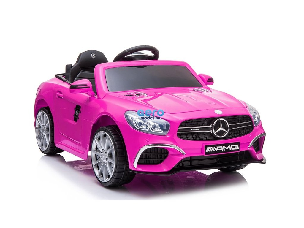 pol pl Auto na Akumulator Mercedes SL63 Rozowy 4152 1