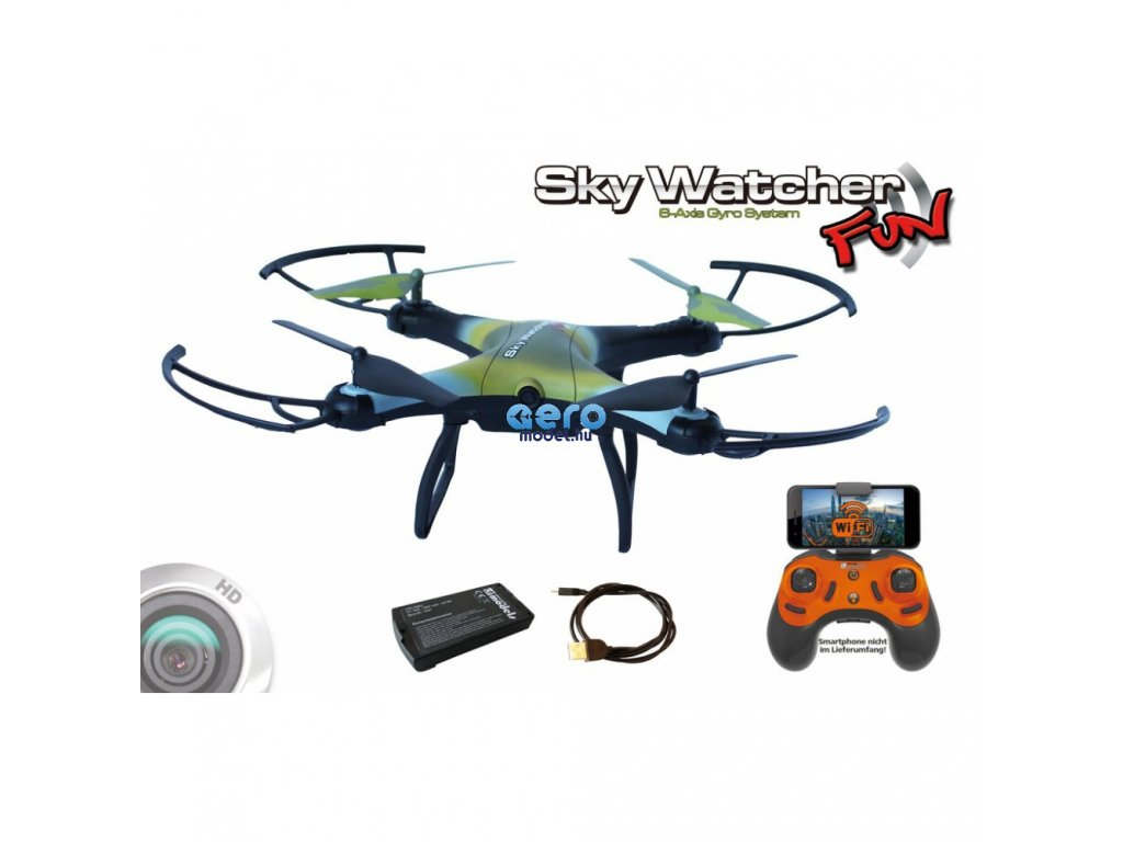 skywatcher fun wifi rtf fpv 20 min
