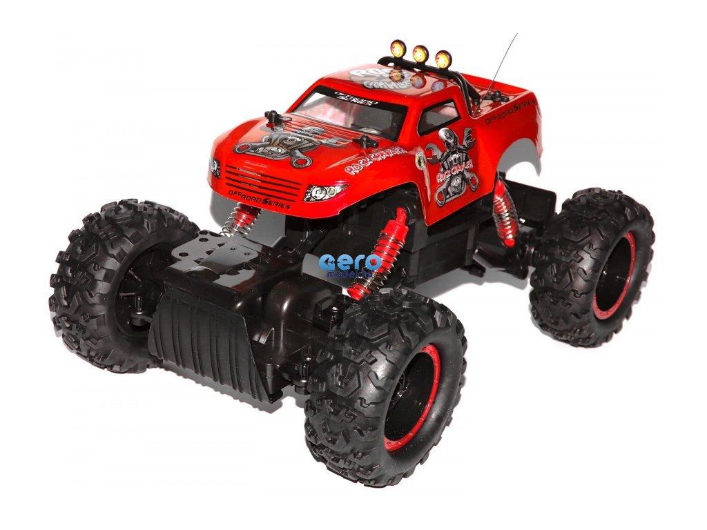 Rock Crawler 4WD 1:12 40MHz RTR (Farba Červená)