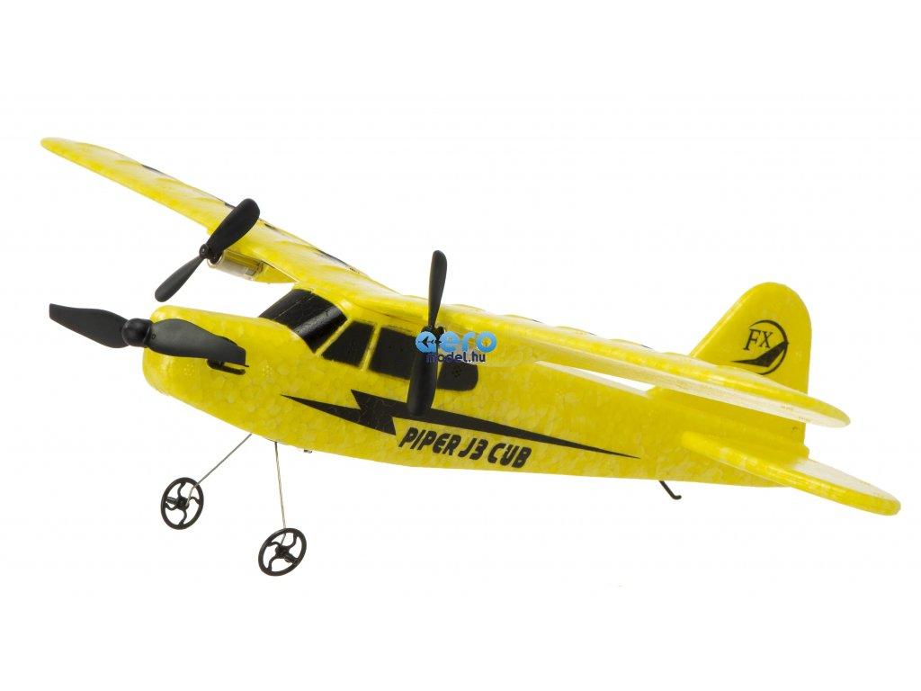 RC LIETADLO FX803 Piper J-3 CUB 2,4Ghz 2CH RTR