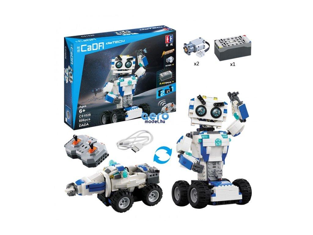 Double Eagle: Robot / jármű (2in1) - TÁVIRÁNYÍTÓS
