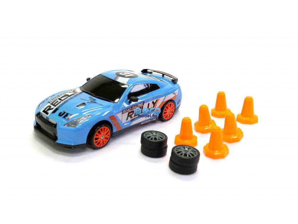Drift sportkocsi Nissan Skyline GT-R, 4WD, 1:24, 2,4 GHz, RTR