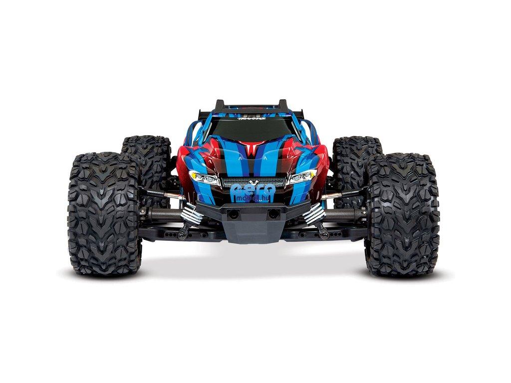 RC autó Traxxas Rustler 1:10 VXL 4WD TQi RTR