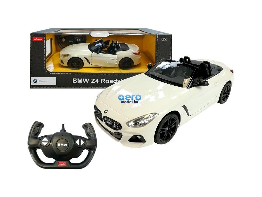 pol pl Auto R C BMW Z4 Roadster Rastar 1 14 Biale 4671 4