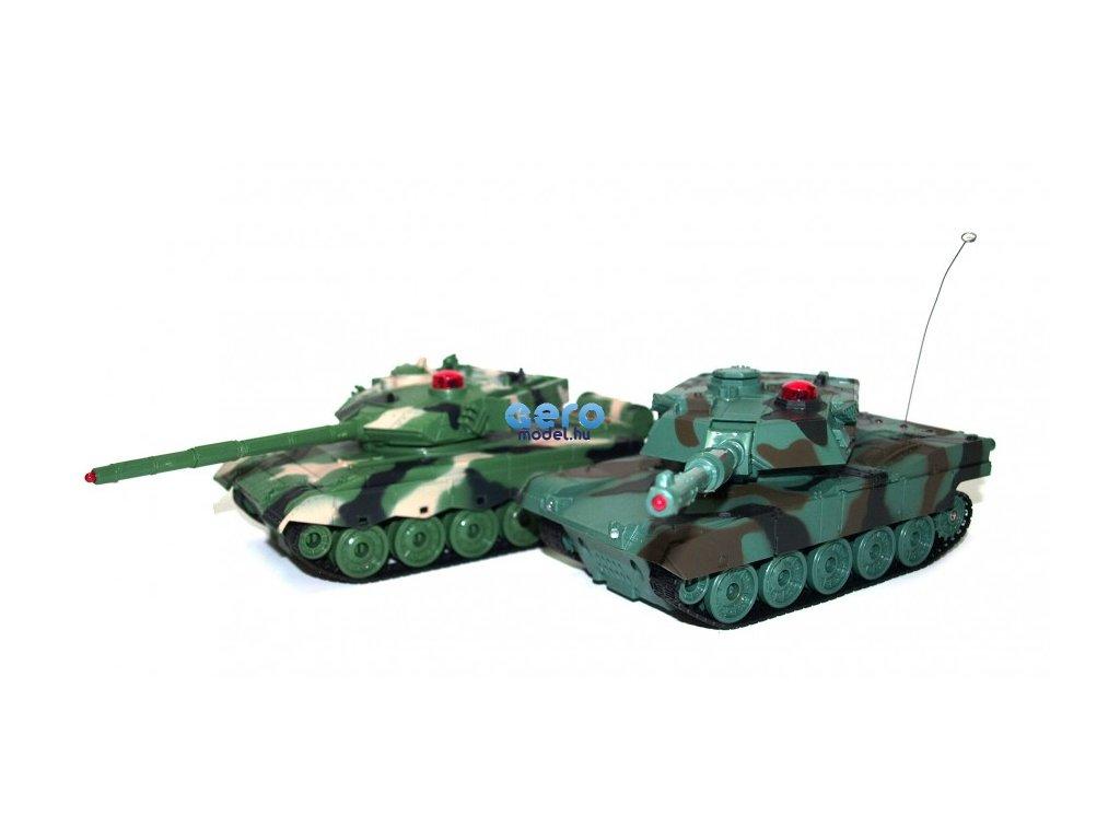 Zegan: Amerikai M1A2 és kínai 96 1:32 27 / 40MHz harckocsi pár