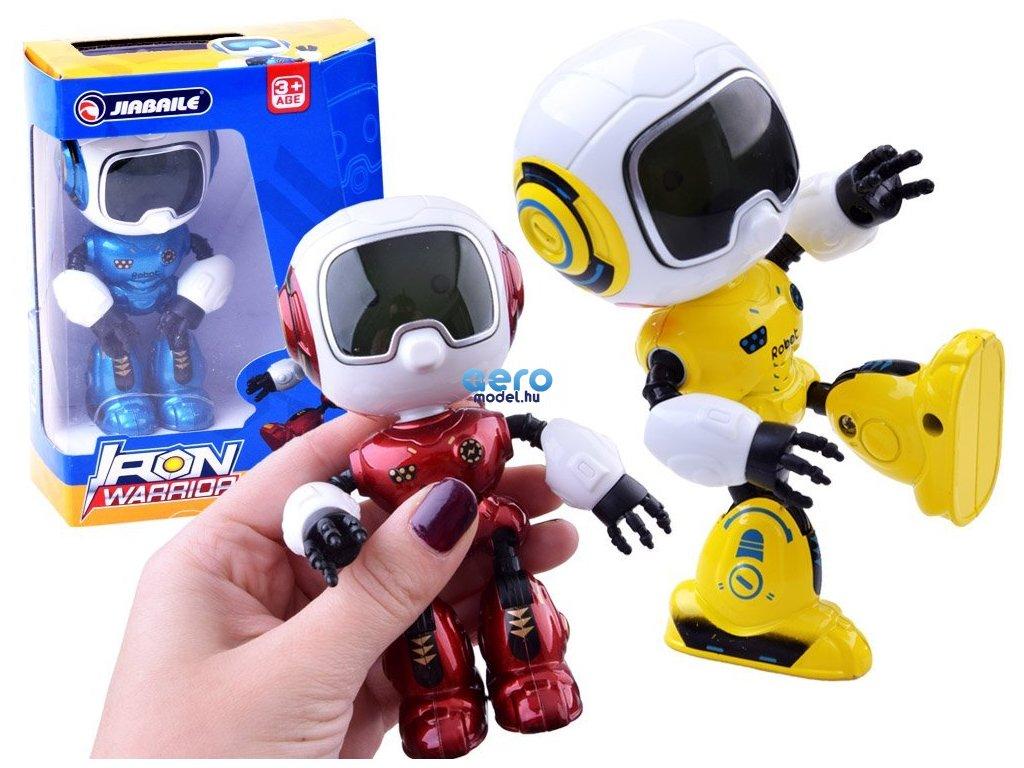 Robot játék figura hanggal