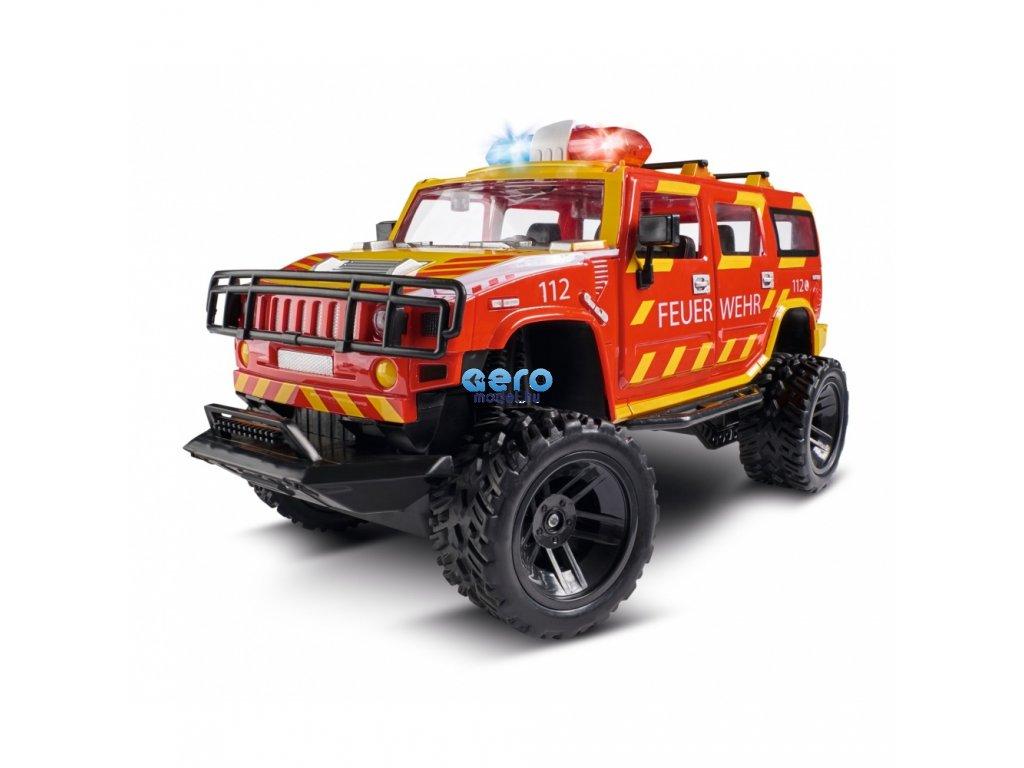 HUMMER H2 Tűzoltóautó 1:14, 2,4 GHz, LED, 100% RTR