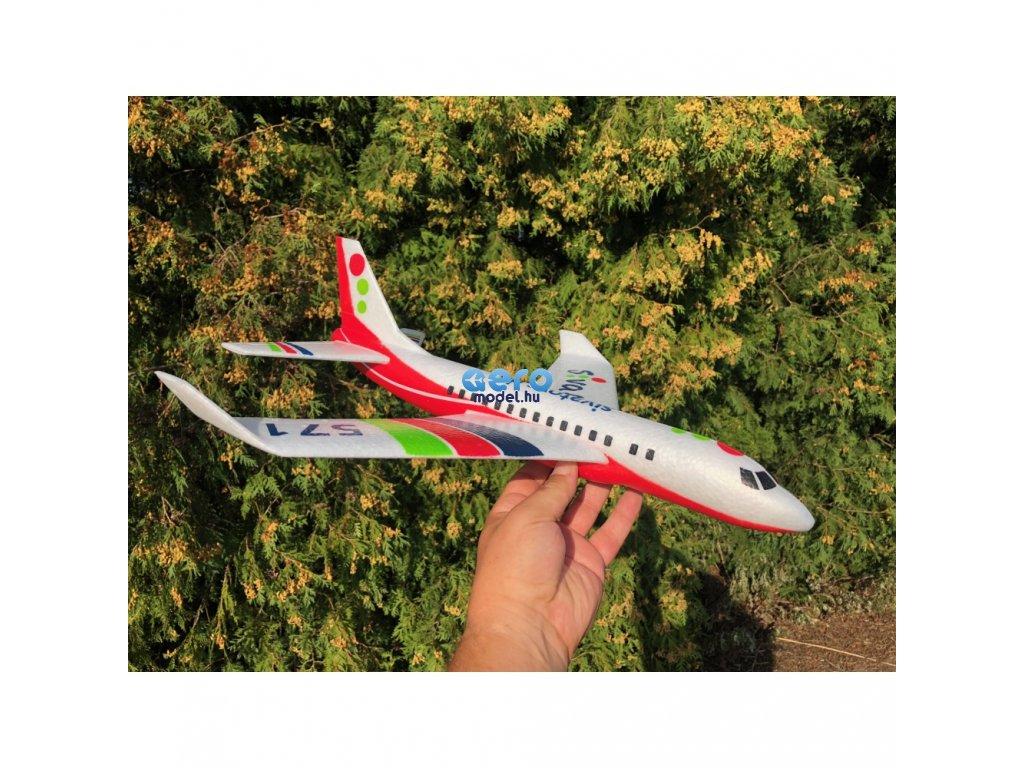 Repülőgépmodell piros - Siva Air 571