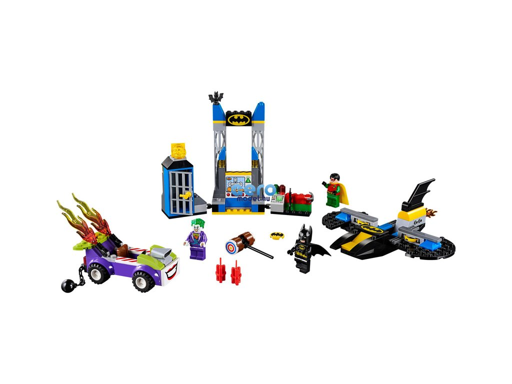 LEGO Juniors - A Joker megtámadja a Batcave-ot