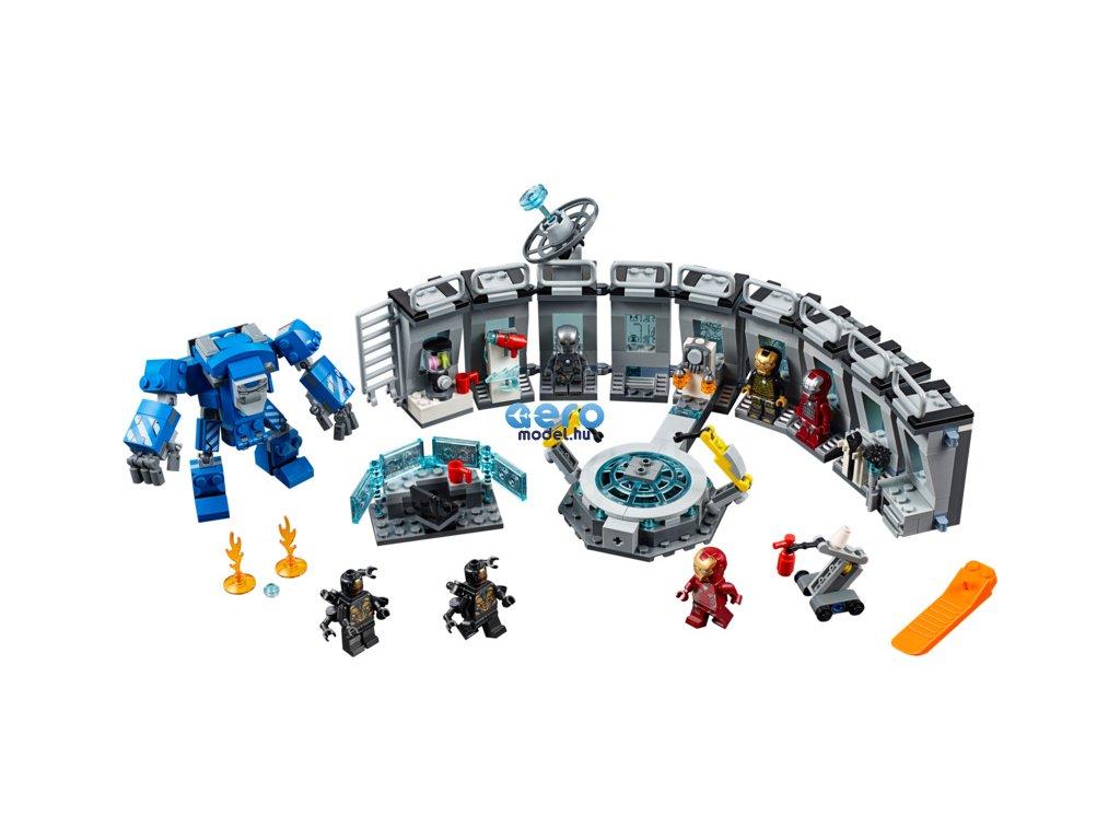 LEGO Avengers - Vasember és az öltönyei