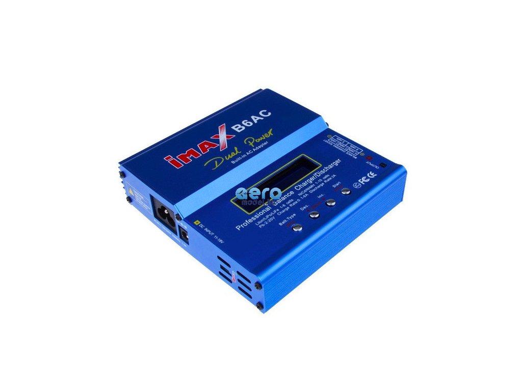 Imax: Töltő Imax B6AC 80W tápegységgel és adapterekkel